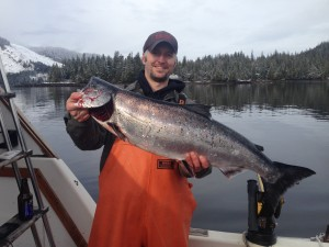 Salmon fishing Ketchikan