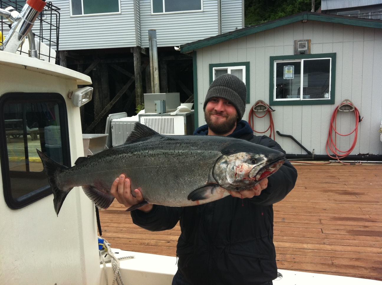 Brian king salmon 2011 for Ketchikan salmon fishing