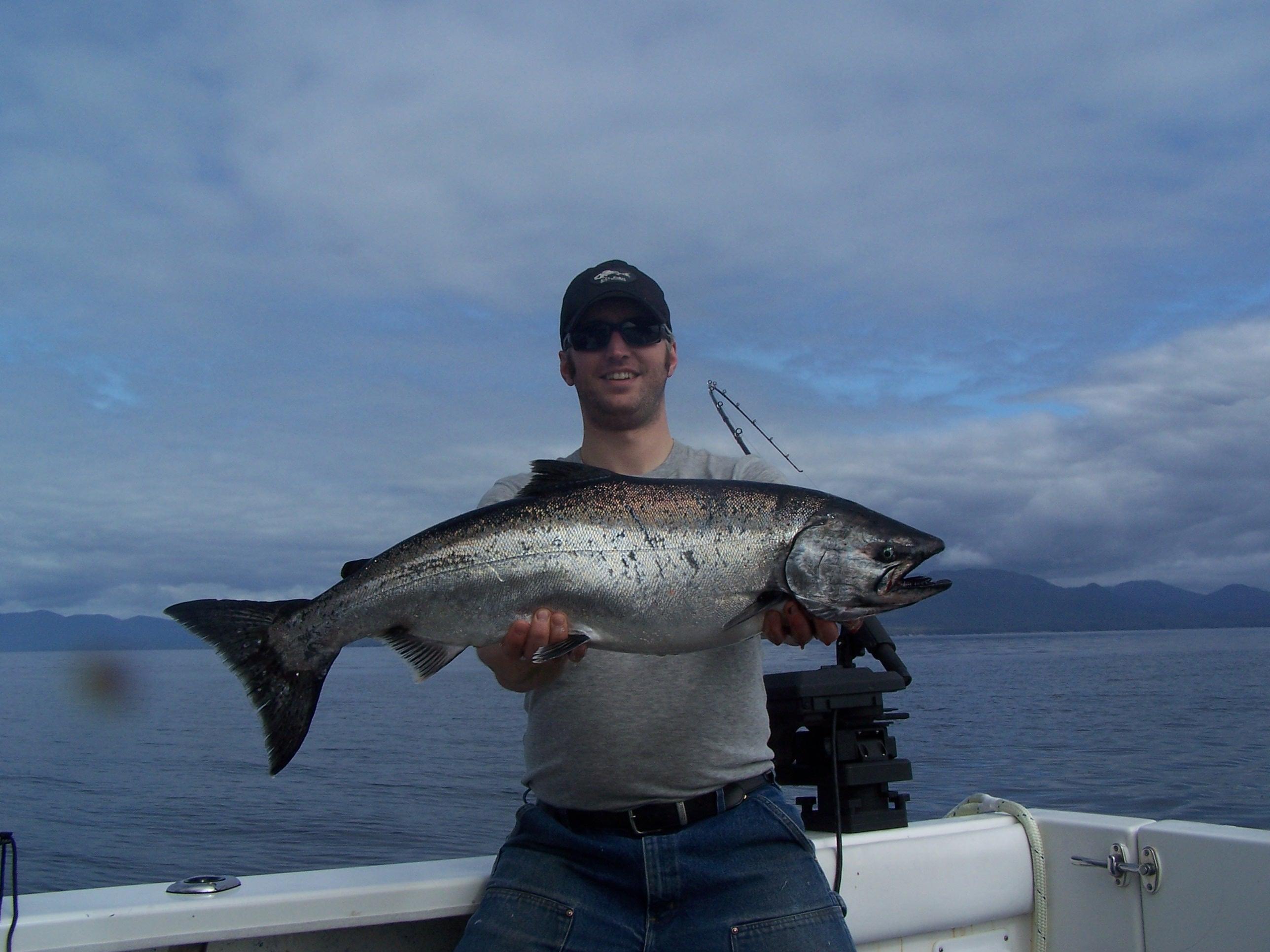 May mary island king for Ketchikan salmon fishing
