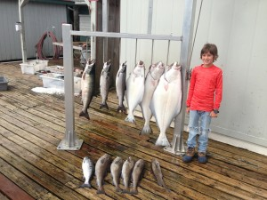 Halibut Salmon Fishing Ketchikan Alaska