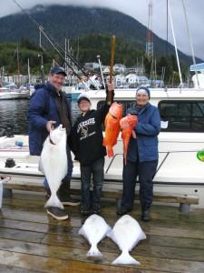 Bottomfishing for Halibut with captain Jim