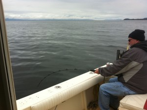 Halibut fishing in Ketchikan