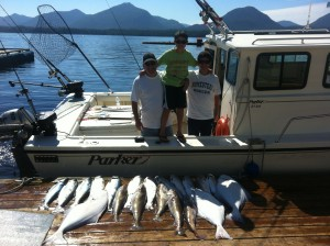 Ketchikan Salmon and Halibut Fishing