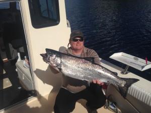 Ketchikan King Salmon fishing