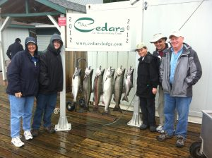 ketchikan alaska salmon fishing fun