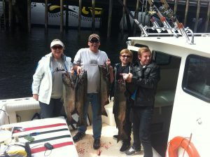 cruise ship salmon trip