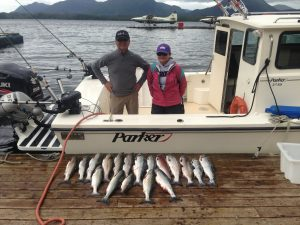 1/2 day salmon fishing
