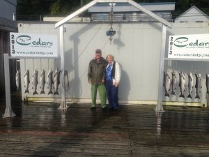 Fall Coho fishing Ketchikan AK