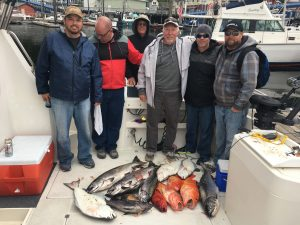Ketchikan Alaska full day fishing trip