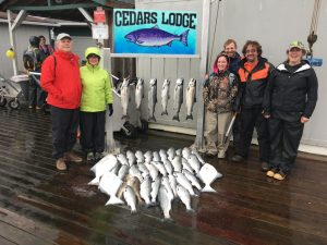 Ketchikan 2017 all day fishing trip