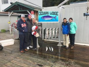 ketchikan 1/2 day salmon trip
